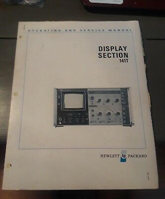 Hewlett Packard HO 141T HP Manual Display Section