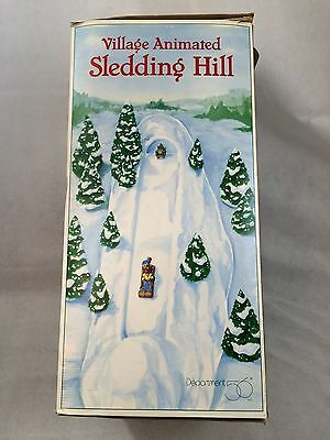 Department 56 Village Animated Sledding Hill Tested - NO SHIP LOCAL PICKUP ONLY