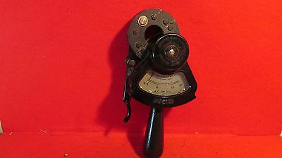 Vintage Columbia Electric Clamp On Ammeter w/leather case