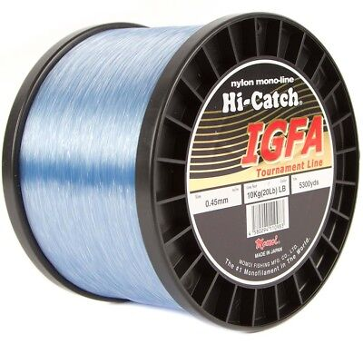 Momoi Hi-Catch IGFA 1000m 1kg to 8kg Monofilament Line Blue