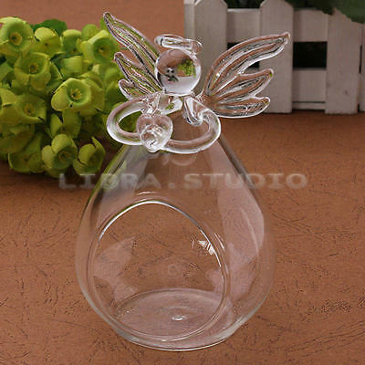 Hanging Light Holder Angel Candlestick Wishing For Party Wedding Decor