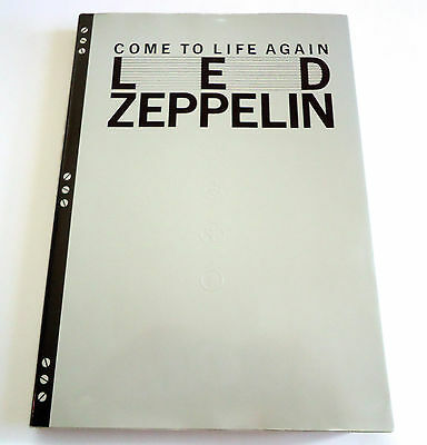 LED ZEPPELIN Come To Life Again Archives of Ongaku Senka Mag JAPAN BOOK 1990