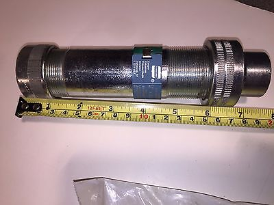 """3/4"""" ~ 4"""" Crouse Hinds XJG24 Expansion Joint Fitting Coupling w/ internal ground"""