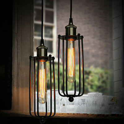 Industrial Vintage Pendant Light Lamp Base Classical Lighting Home Fitting Lamp