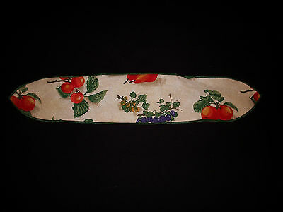 Longaberger Fruit Medley Large Basket Fabric Handle Tie