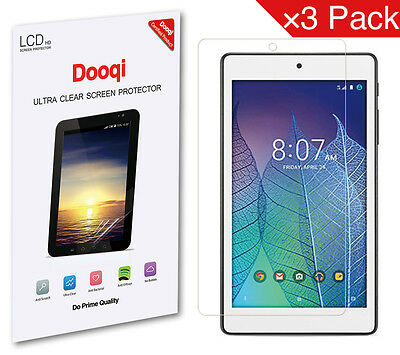 3X Dooqi HD Clear LCD Screen Protector  Guard For Alcatel OneTouch Pop 7 LTE