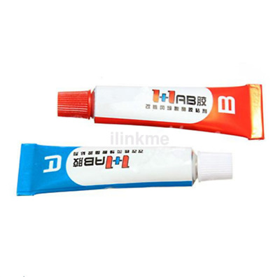 Brand New 2pc Component Resin A+B Glue Strong Adhesive Epoxy Super Sticky CA
