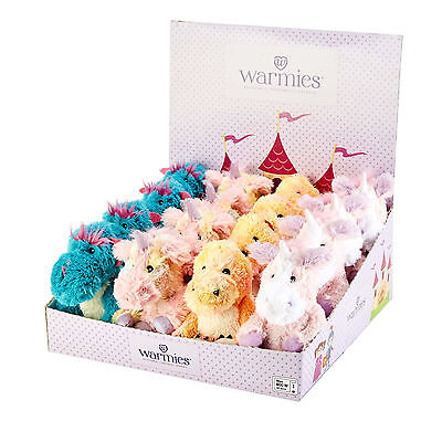Warmies Mini Cozy Plush Microwavable Bedtime Fantasy Themed Teddy Heatable Toy