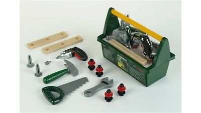 Bosch Toy Toolbox Including Hammer, Saw, Wrench & Many Other Tools