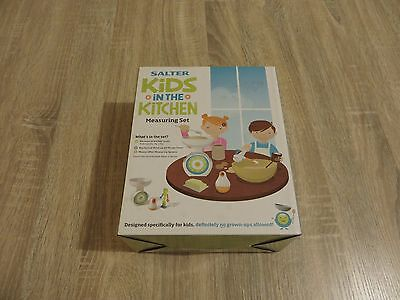 Salter Kids in the Kitchen Measuring Kit - New and Sealed