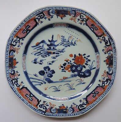 Chinese export porcelain plate, 18thC