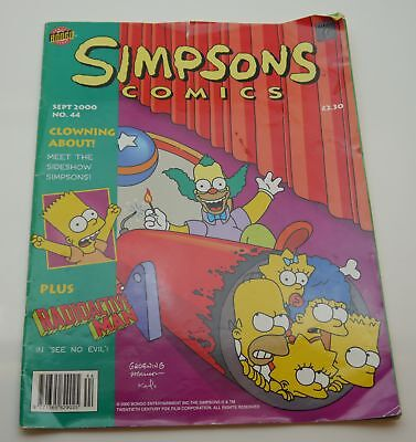 Job Lot 3x The Simpsons Comics Numbers 22 44 110 Used - Fast Free Delivery