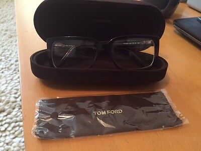 TOM FORD GLASSES FRAMES SQUARE AUBERGINE worn once