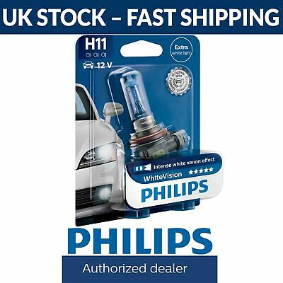 Philips White Vision WhiteVision H11 Headlight Bulb (Single) 12362WHVB1