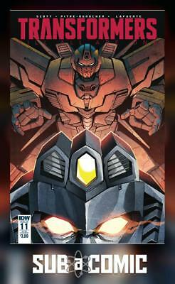 TRANSFORMERS TILL ALL ARE ONE #11 SUB VARIANT (IDW 2017 1st Print) COMIC