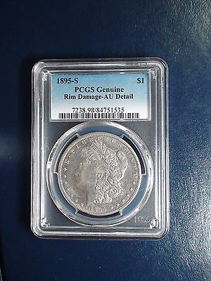 1895 S Morgan Silver Dollar PCGS AU Detail KEY DATE $1 Coin PRICED TO SELL!