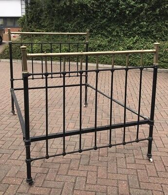 Victorian Cast Iron Double Bed. Open To Offers?