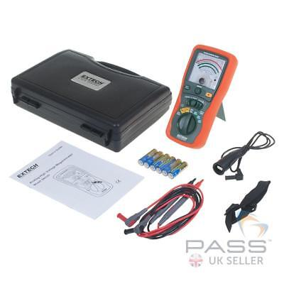 *NEW* Extech 380320 Analogue Insulation Tester Inc. Leads, Batteries and Case /