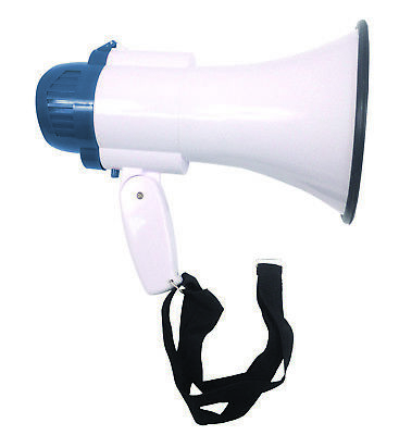 Eagle 15W Handheld Microphone Siren Outdoor Indoor Handheld Megaphone Recorder