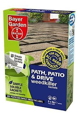 Bayer Garden Path, Patio and Drive Weed Root Killer Prevention 6 Sachet