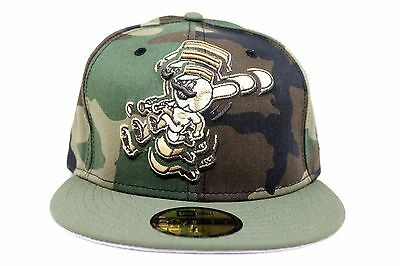5a3a28443c164 Cincinnati Reds Woodland Camo Olive Green Gray MLB New Era 59Fifty Fitted  Hat