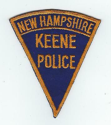 VINTAGE KEENE, NEW HAMPSHIRE POLICE (CHEESE CLOTH BACK) patch