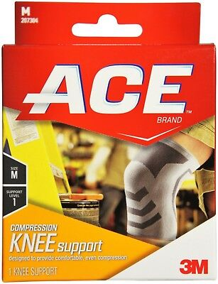 ACE Compression Knee Support Medium 1 ea