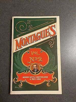 Montague's Modern Bottle Identification and Price Guide Vol. 2 1980 Paperback
