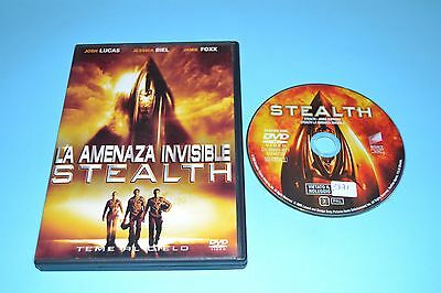 La Amenaza Invisible Stealth              Dvd Pelicula Completa  Film Dvd