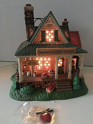 DEPT 56 New England Village CHAPMAN'S CIDER HOUSE  #56655 & orig box