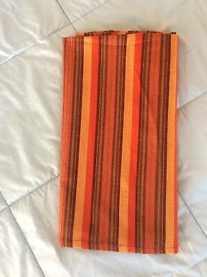 Maasai Blanket Shuka African Throw Wrap Stripped Fabic 100% Acrylic - New
