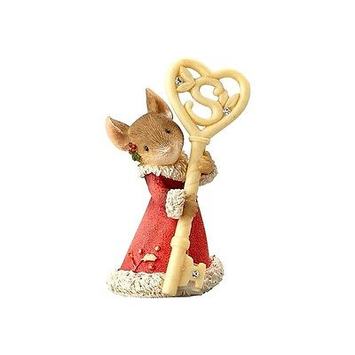 Mouse with Santa Key The Heart of Christmas 4057655 Figurine