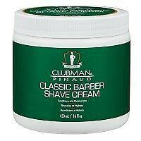 Clubman Classic Barber Shave Cream 450g
