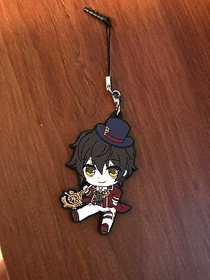 JAPAN Code Realize  rubber phone strap  Arsene Lupin