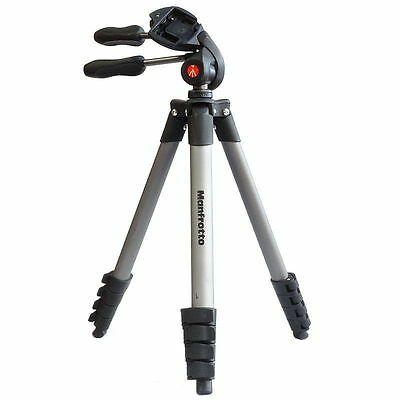 "Genuine Manfrotto - 65"" Compact Action Tripod - Black"