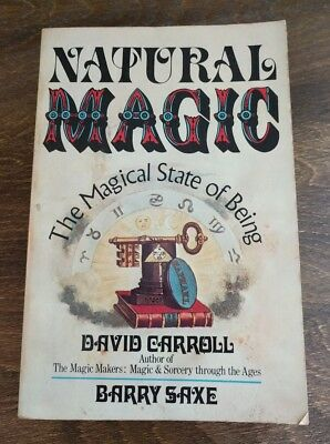 Natural Magic: The Magical State of Being *David Carroll* 1977 *MAGIC IS REAL*