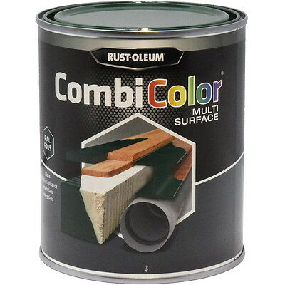 Rust-Oleum CombiColor Multi-Surface Paint Moss Green Gloss 750ml RAL 6005