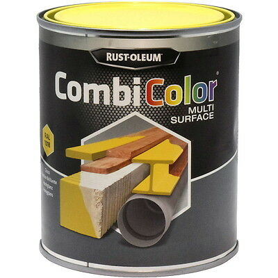 Rust-Oleum CombiColor Multi-Surface Paint Light Yellow Gloss 750ml RAL 1018