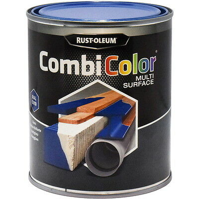 Rust-Oleum CombiColor Multi-Surface Paint Gentian Blue Gloss 750ml RAL 5010