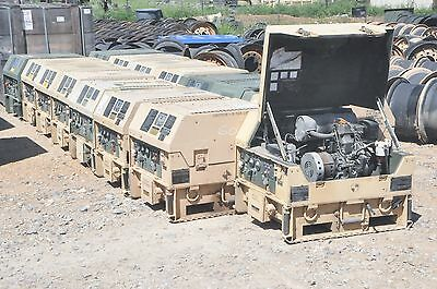 17 MEP-831A 3KW Diesel Generators-Sold as one lot-Just Got From Military