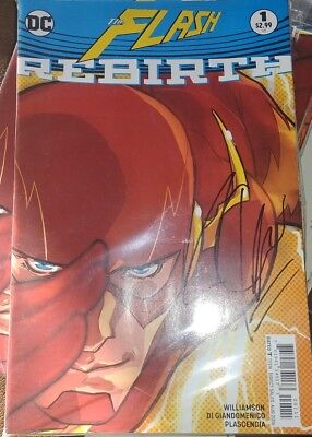 The Flash Rebirth #1 (1st God Speed) Signed by Joshua Williamson with COA.