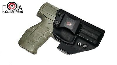 Kydex Holster With  Claw and adjustable cant and adjustable retention.
