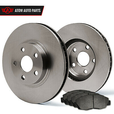 2010 Audi A5 w/320mm Front Rotor Dia (OE Replacement) Rotors Metallic Pads F