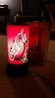 Rotating Revolving Coke Coca Cola Bottle Can Lamp