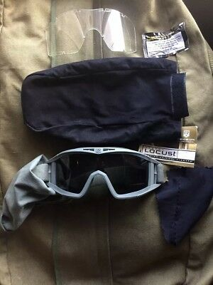NEW  REVISION  Desert Locust military issued goggle System - foliage green