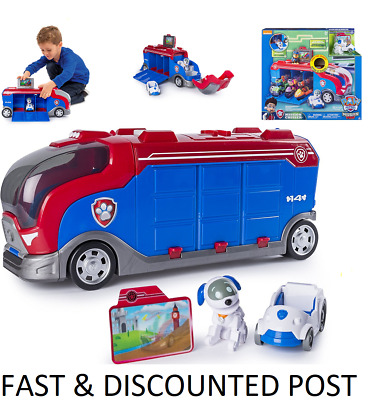 Paw Patrol Mission Paw - Mission Cruiser Patroller Truck & Robo Dog Vehicle NEW