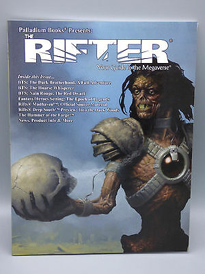 Rifts The Rifter #36 RPG Roleplaying Game Book Palladium Sourcebook Series New