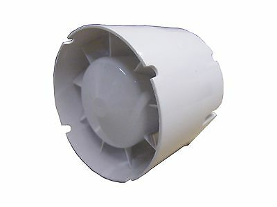 Pipe Fan 305 M3/H 150 Flat Connection 150 vko1 T (with Timer Function)