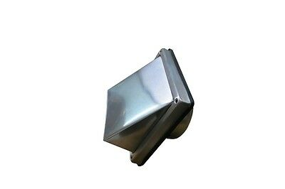 Air Vent Grill Stainless Steel 125 mm Connection