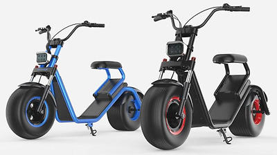 elektro scooter harley chopper 800w 35km h 50km. Black Bedroom Furniture Sets. Home Design Ideas